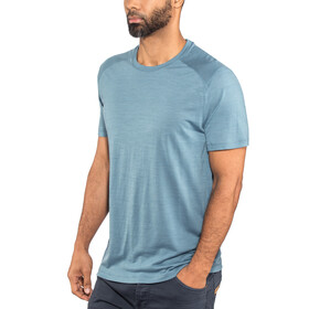 Icebreaker Sphere SS Crewe Shirt Men Granite Blue